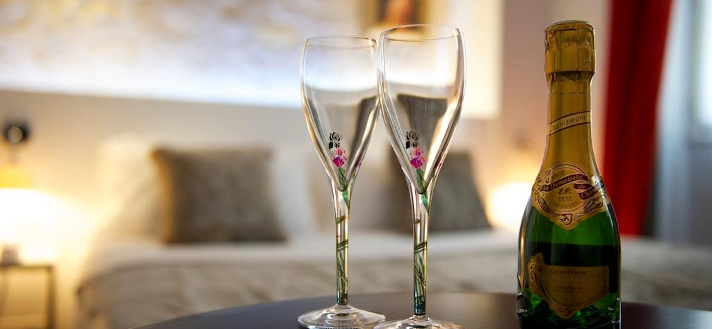 Offre accueil au champagne