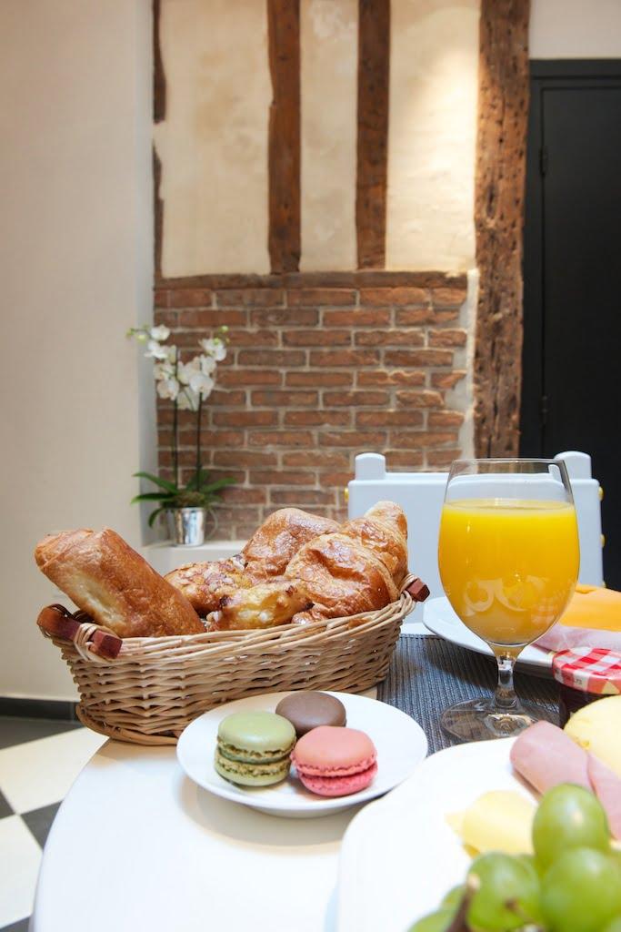 Petit Déjeuner Le Clos Notre Dame